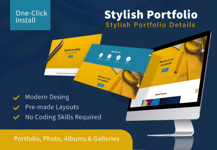 T3 Stylish | TYPO3 Portfolio Template