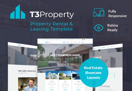 T3 Property | Real Estate TYPO3 Template