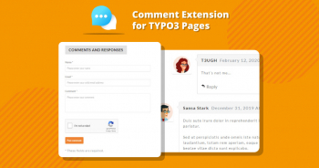 TYPO3 Comment Extension for TYPO3 Pages