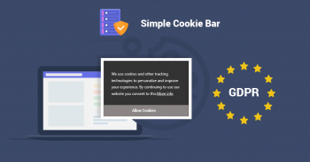 Simple TYPO3 Cookie Bar Extension