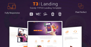 T3 Landing | One page TYPO3 Template