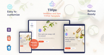 T3 Spa | Wellness TYPO3 Template